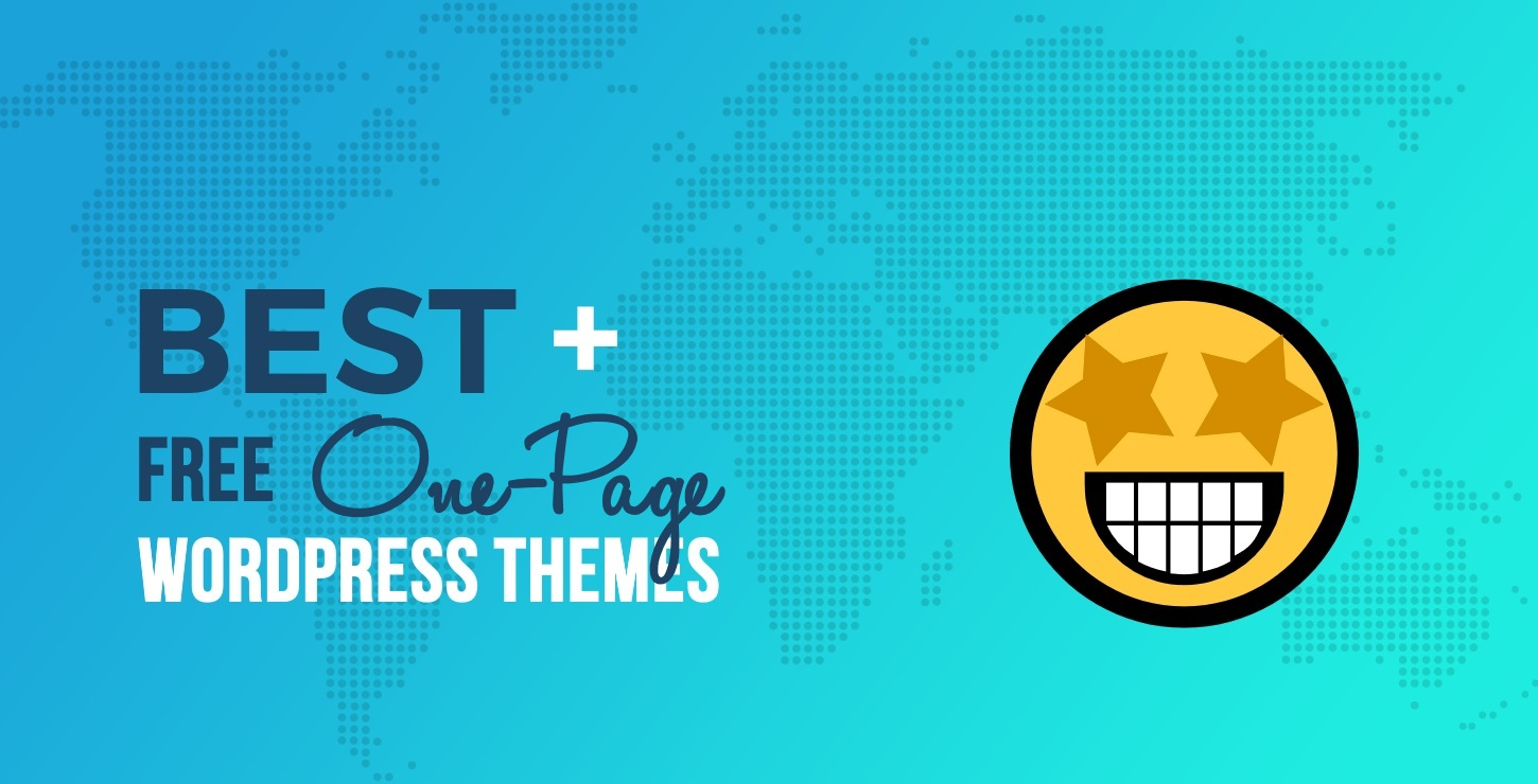 20+ Best Free One Page WordPress Themes in 2019