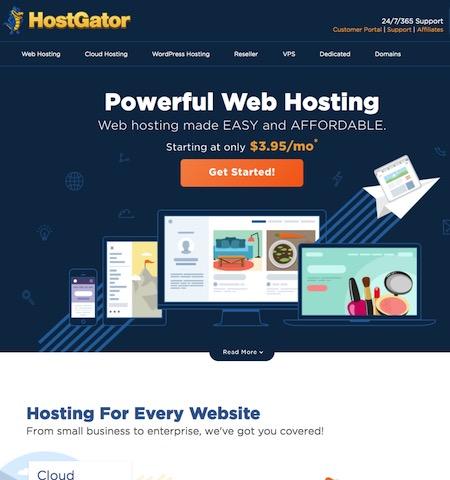 HostGator for WordPress