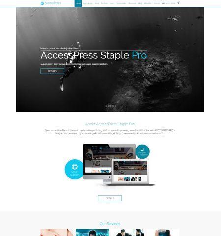accesspress staple pro