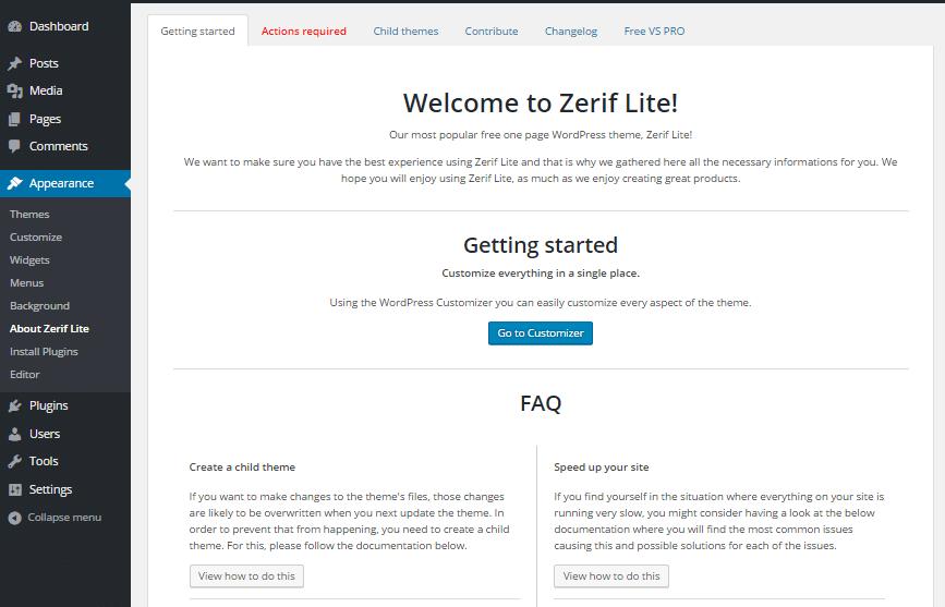 zerif-lite-welcome