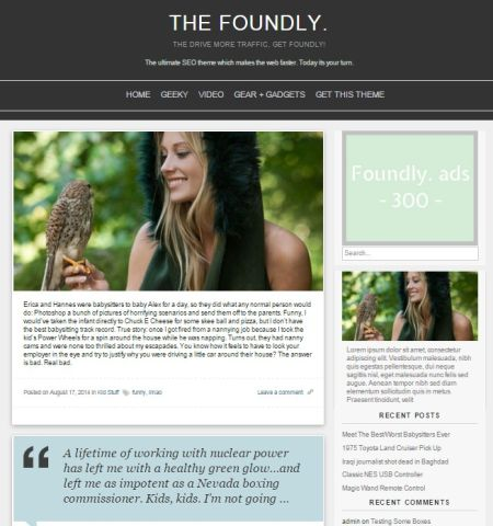 the foundly