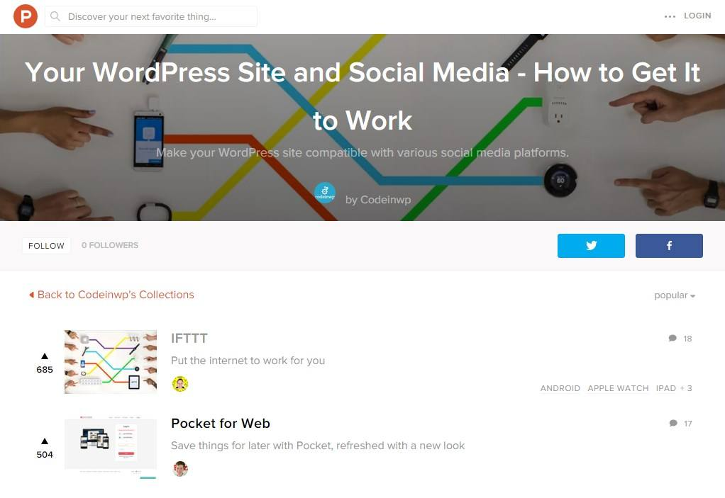 wordpress-site-and-social-media