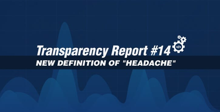 Transparency Report #14
