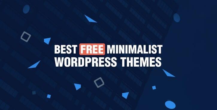 15+ Best Free Minimalist WordPress Themes 2018