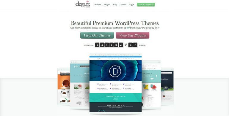 Elegant Themes one of the best affiliate programs for WordPress