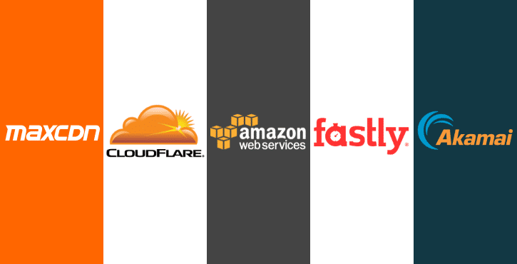 MaxCDN (StackPath) vs CloudFlare vs CloudFront vs Akamai vs Fastly