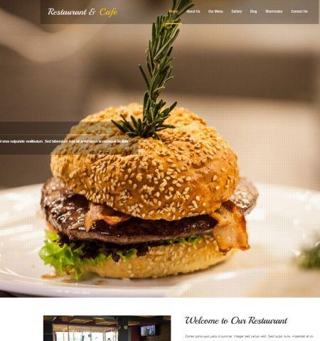 free restaurant WordPress themes #1: Restaurant Lite