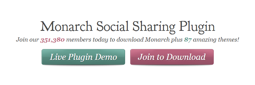 Best Social Media Plugins: Monarch