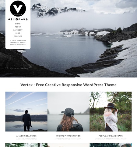 vertex-free-wordpress-theme