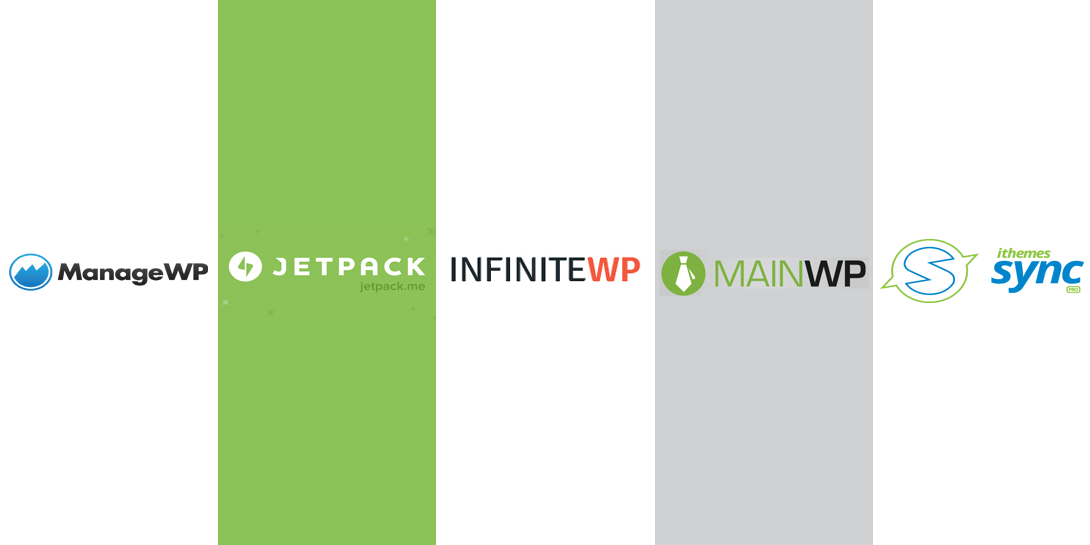 ManageWP vs Jetpack vs InfiniteWP vs MainWP vs iThemes Sync