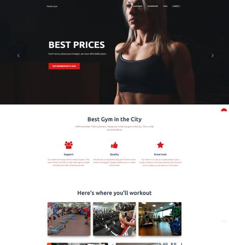 Fitness and lifestyle WordPress themes top choice: Hestia