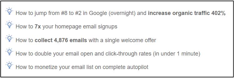 Format your blog posts using custom bullet lists