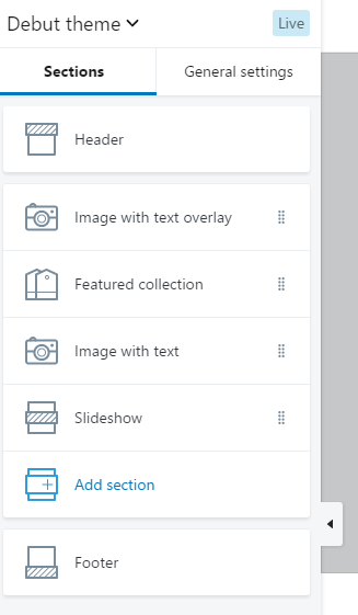 shopify theme customize