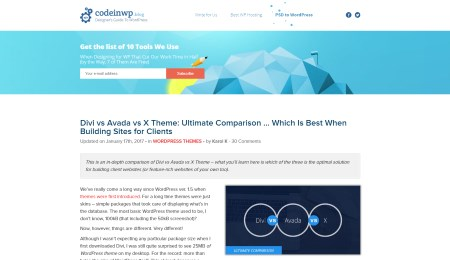 Brilliant WordPress Tutorials: Divi vs Avada vs X