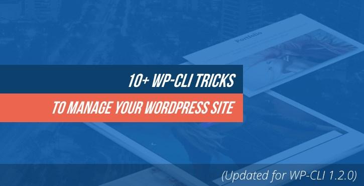 10+ WP-CLI Tricks to Manage Your WordPress Site