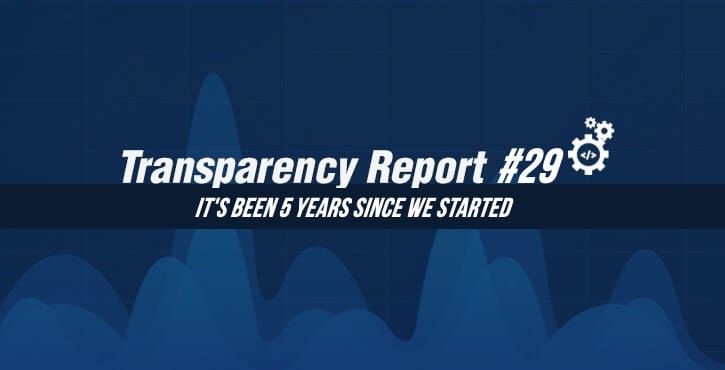 Transparency Report 29