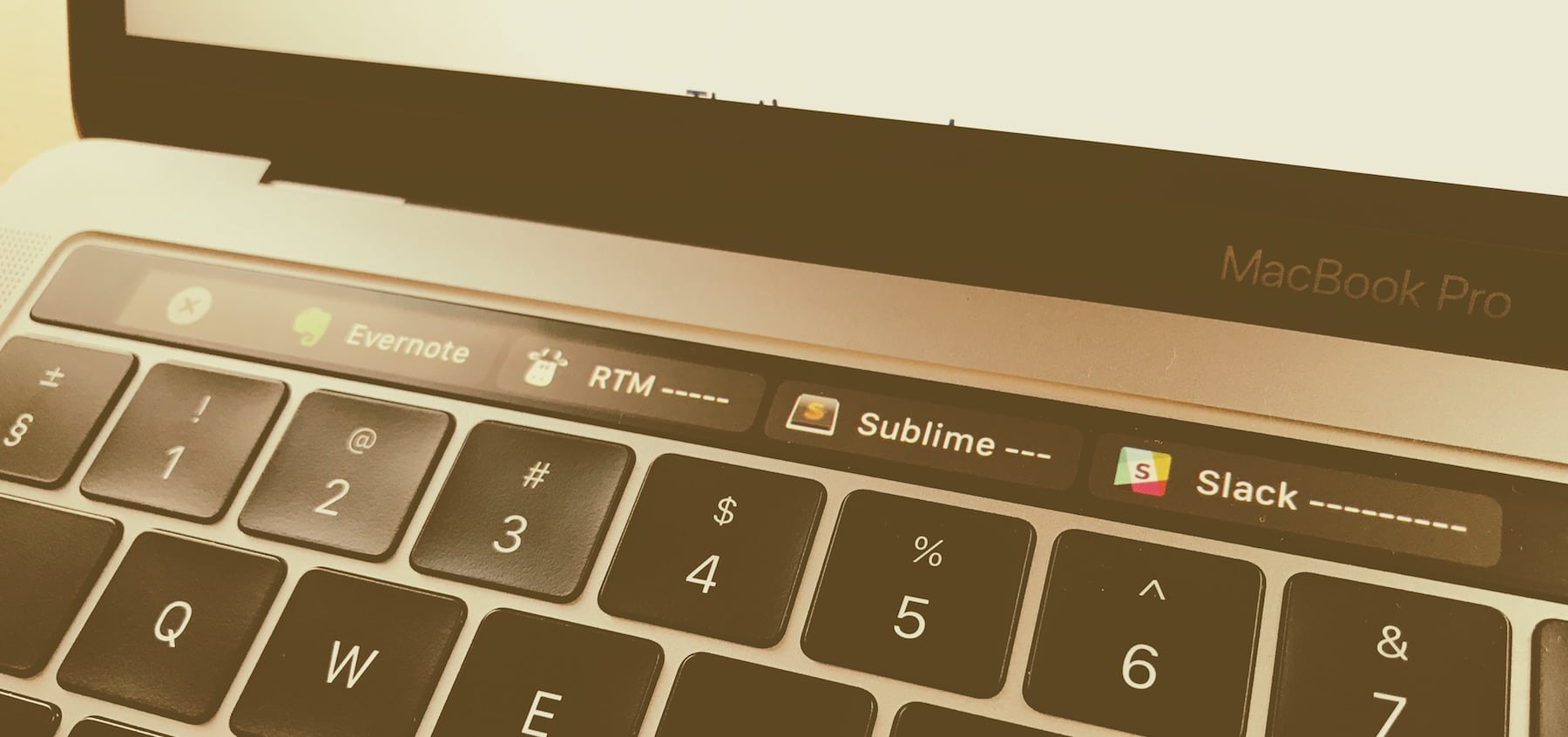 macbook pro touch