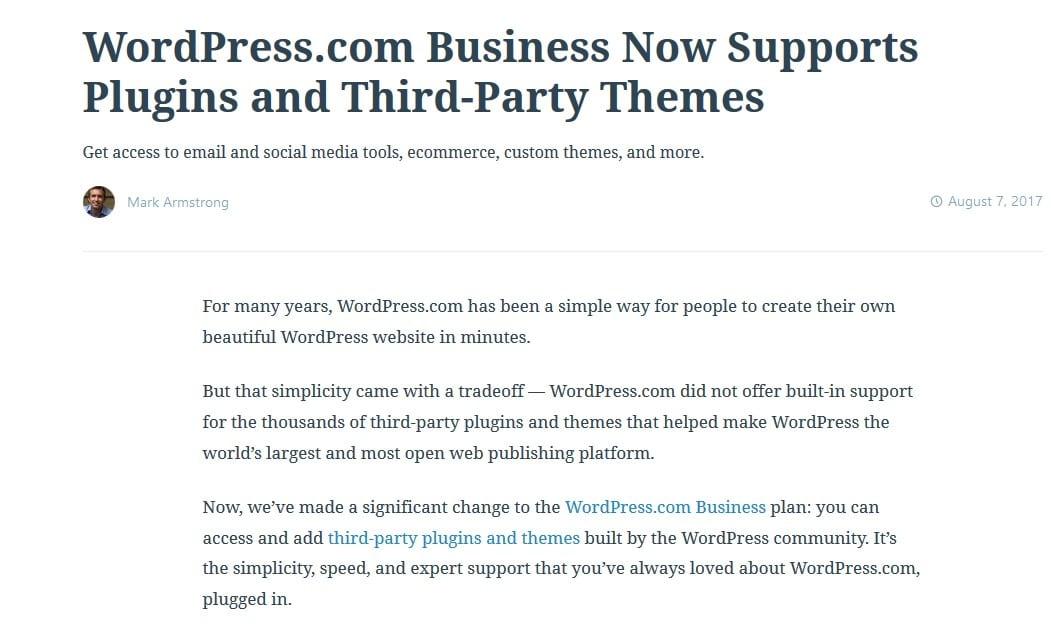 WordPress.com plugins