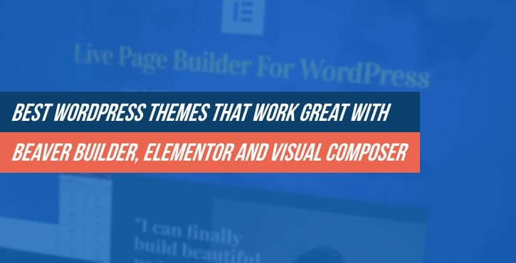 20+ Best WordPress Themes That Work Great With Beaver Builder