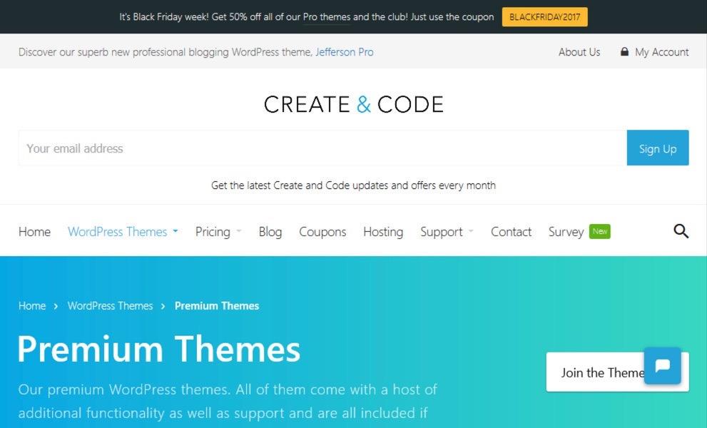 Create and Code WordPress Themes
