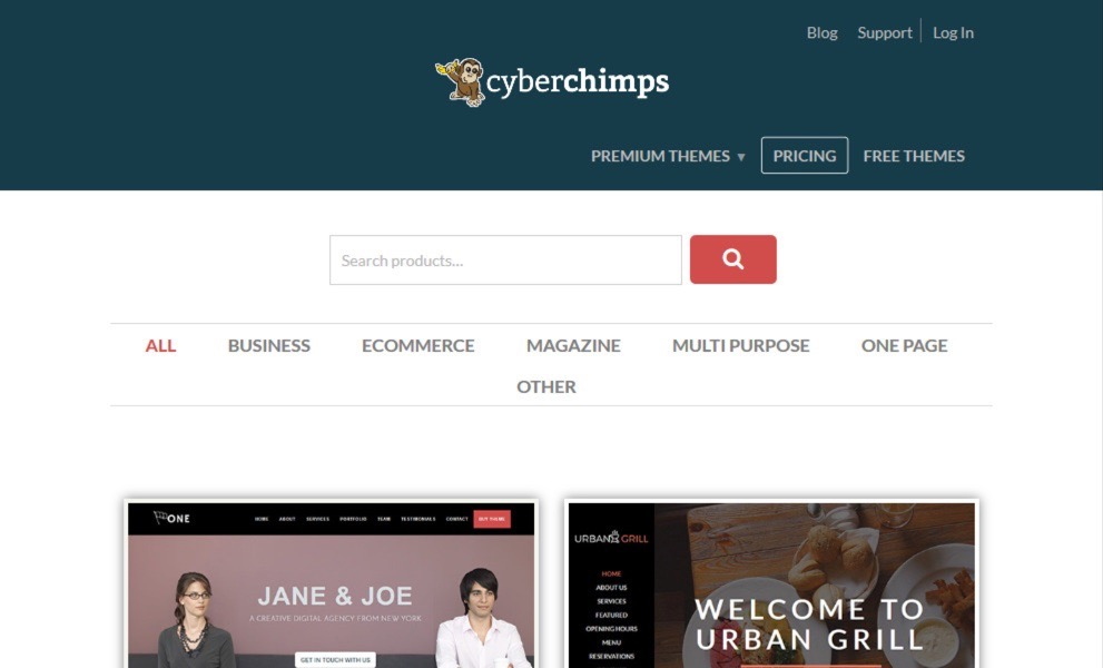 Cyberchimps Themes and Plugins
