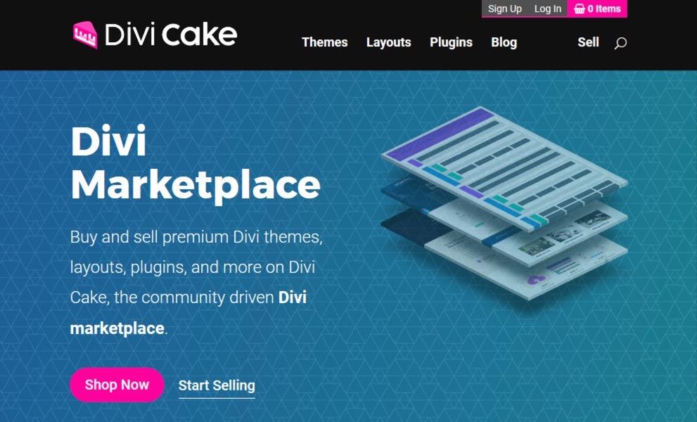 Divi Cake