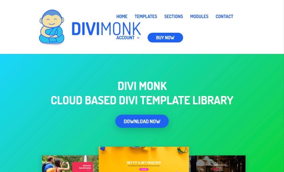 Divi Monk - Divi Templates and Layouts