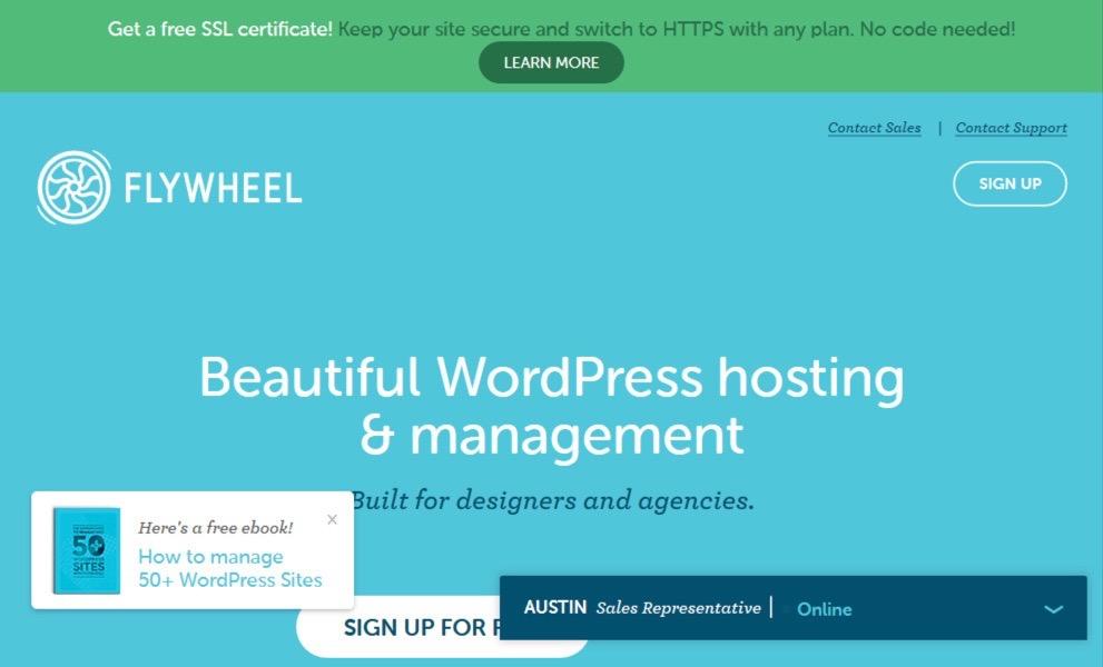 Flywheel - WordPress Hosting