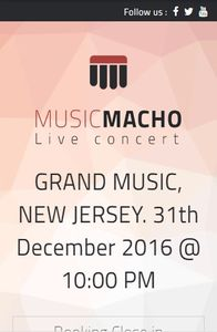 MusicMacho on mobile