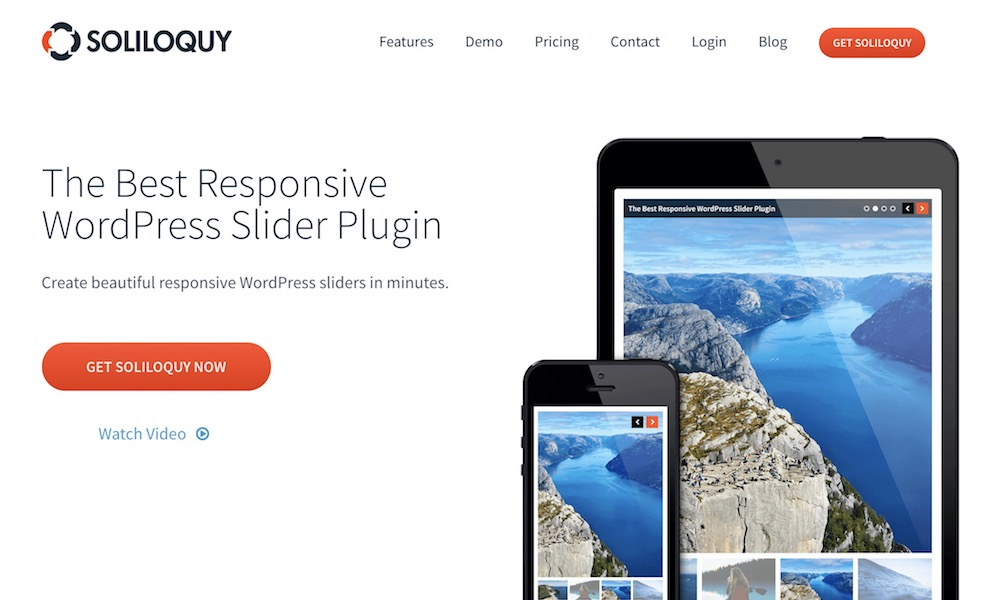 Soliloquy - WordPress Slider Plugin