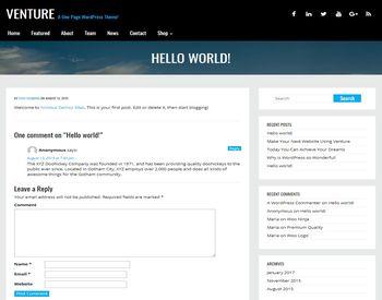 Venture Lite view