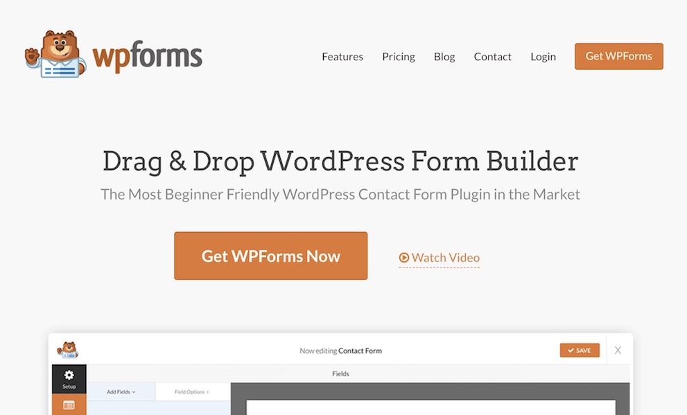 WPForms - WordPress Form Builder