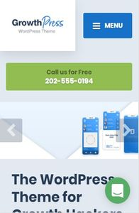 GrowthPress on mobile