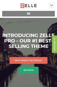 Zelle Pro on mobile