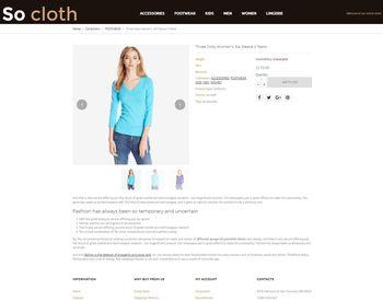 Fashion Store view