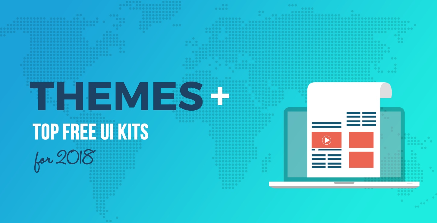 20 top free ui kits for 2018 bootstrap and wordpress friendly