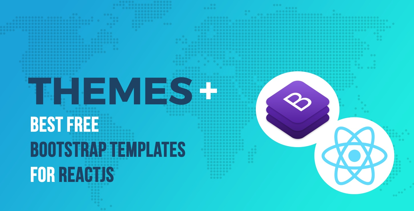 15 best free bootstrap templates for reactjs