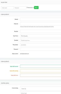Director Admin Template on mobile