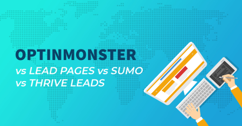 Optinmonster vs Lead Pages vs Sumo vs Thrive Leads