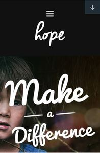Hope on mobile