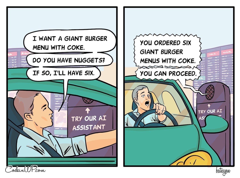 Drive thru AI