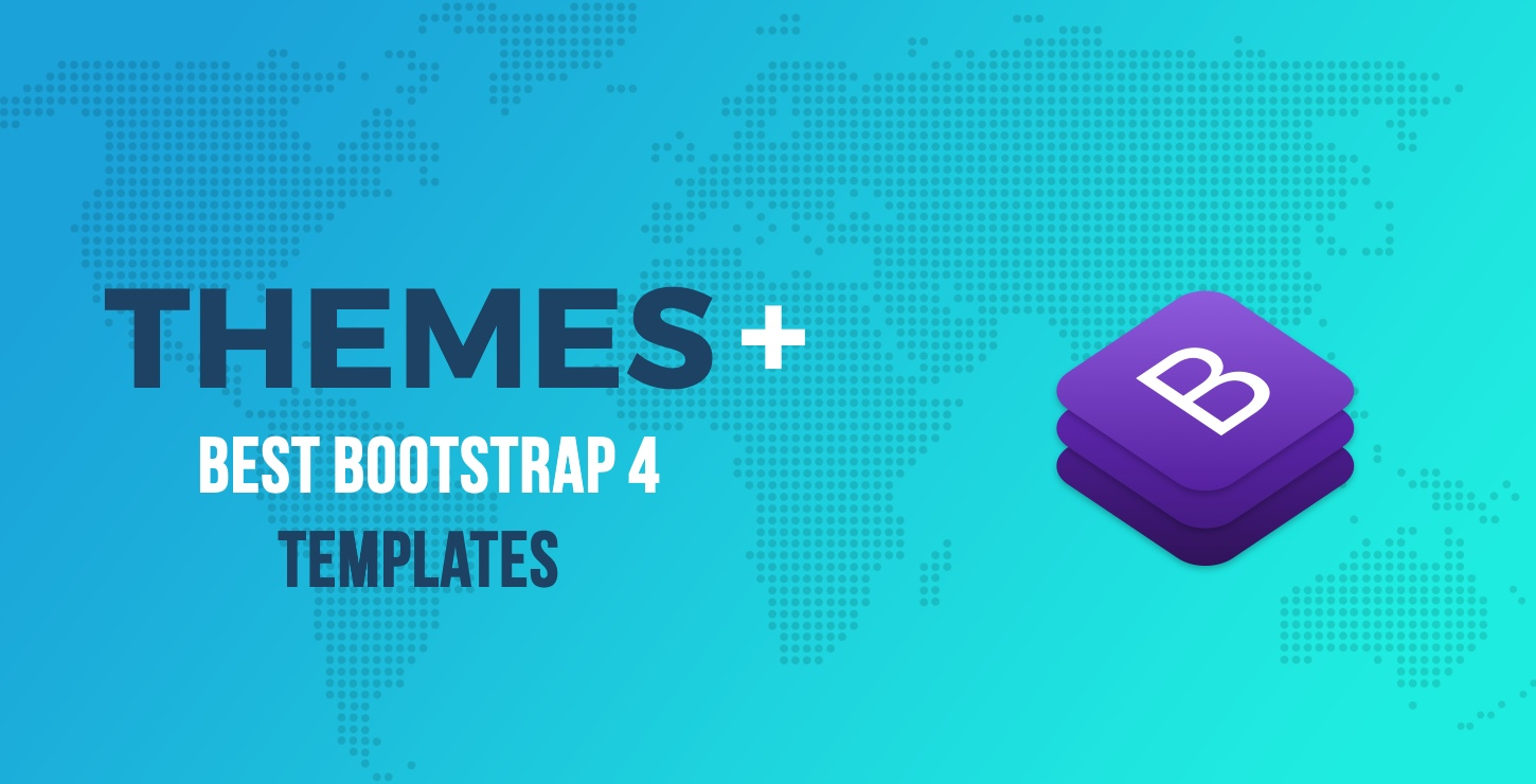 20+ Best Bootstrap 4 Templates (Free and Premium)