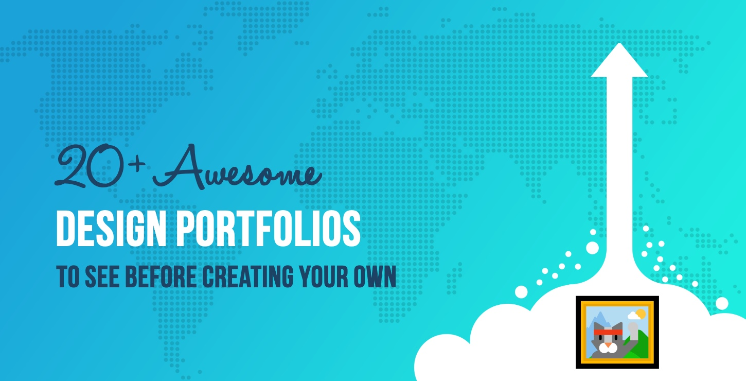 20 Awesome Design Portfolios to See Before Creating Your Own