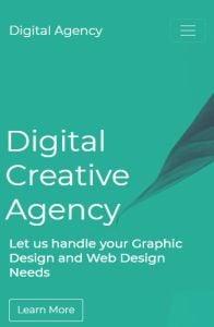 Digital Agency on mobile