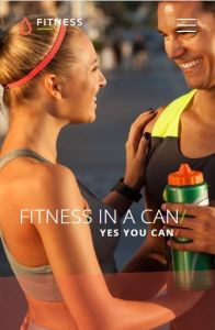 Fitness on mobile