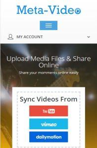 Meta Video on mobile