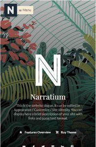 Narratium on mobile