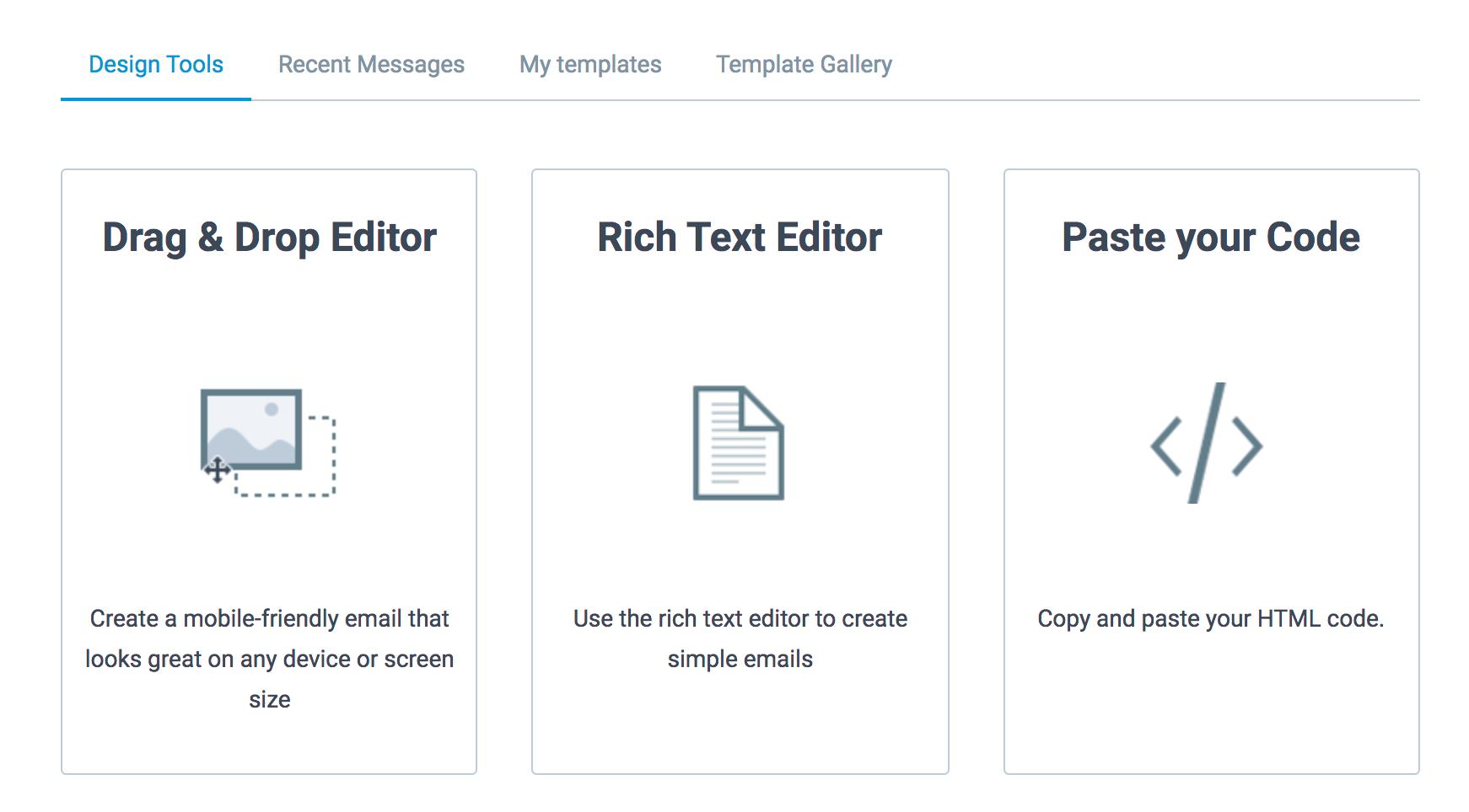 sendinblue design tools