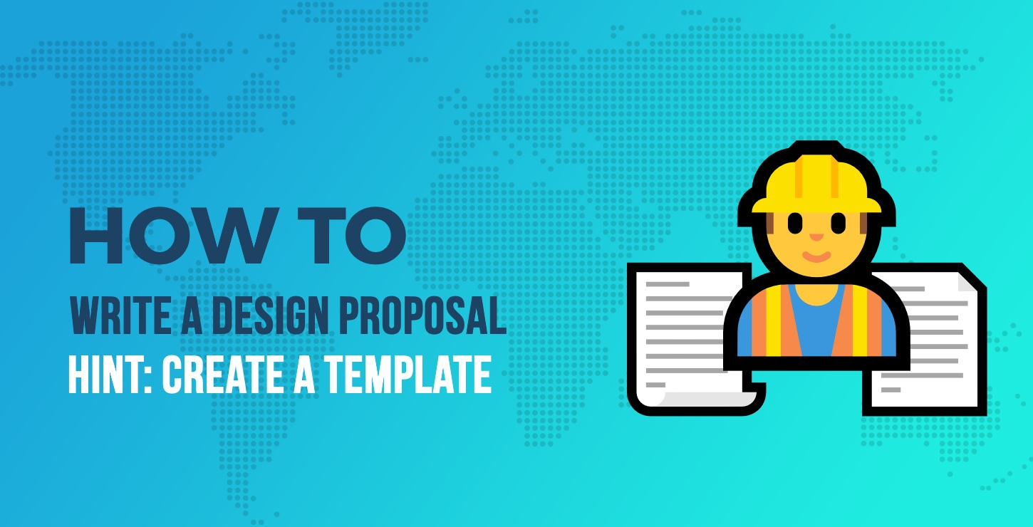 write web design proposal template